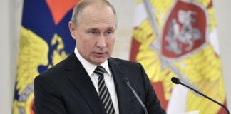 Η δημοτικότητα του Πούτιν τον τελευταίο μήνα έπεσε στα χαμηλότερα επίπεδα των τελευταίων έξι χρόνων, σύμφωνα με δημοσκόπηση του Levada-Centr