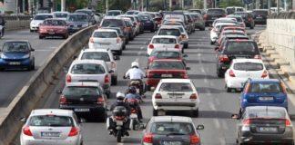 Ιδιαίτερα αυξημένη η κίνηση σε βασικούς οδικούς άξονες της Αττικής - Δεν ισχύει σήμερα ο δακτύλιος