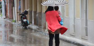 Ισχυρές νυκτερινές βροχές σημειώθηκαν στο Αιγαίο, ιδίως στους Φούρνους