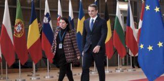 Στις Βρυξέλλες για τα ευρωπαϊκά κονδύλια ο Κ. Μητσοτάκης