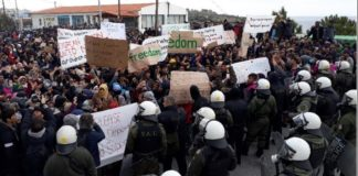 Μηχανήματα και αστυνομικές δυνάμεις σε Χίο και Λέσβο για τις κλειστές δομές - Ένταση στα λιμάνια