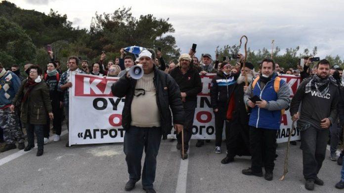 Μυτιλήνη: Πορεία διαμαρτυρίας στο πλαίσιο 24ωρης απεργίας