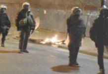 Μυτιλήνη: Στην επιταγμένη έκταση τα μηχανήματα του Στρατού - Συγκρούσεις πολιτών με αστυνομικές δυνάμεις