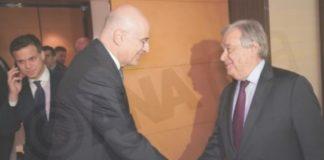 Ν. Δένδιας σε Αντ. Γκουτέρες: Η Ελλάδα έχει και ρόλο και λόγο ως προς την κατάσταση στη Λιβύη