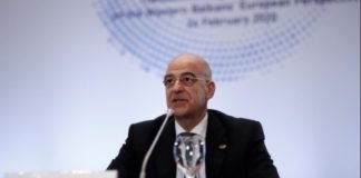 Ν.Δένδιας: Η θέληση της Ελλάδας είναι το Μάρτιο να δοθεί ημερομηνία για τη Βόρεια Μακεδονία και την Αλβανία
