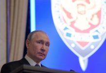 Ο Πούτιν λέει πως θα βοηθήσει τις ΗΠΑ στη μάχη εναντίον της τρομοκρατίας και καλεί την FSB να προστατεύσει τις πληροφορίες για τα νέα όπλα από τις ξένες υπηρεσίες πληροφοριών