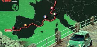 Ο γύρος της Δυτικής Ευρώπης σε 1.949 ώρες με το συλλεκτικό Abarth 695 70° Anniversario