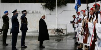 Παρουσία ΠτΔ τελέστηκε τρισάγιο στη μνήμη του εύζωνα οπλίτη Θωμά Σπυρίδωνος