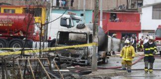Περού: Στους 30 αυξήθηκε ο αριθμός των νεκρών από την έκρηξη βυτιοφόρου τον Ιανουάριο
