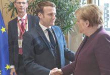 Πολιτική λύση στη Συρία ζητούν Μακρόν και Μέρκελ