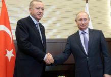 Πούτιν και Ερντογάν συμφώνησαν ότι χρειάζεται συντονισμός και επιπλέον μέτρα για την εξομάλυνση της κατάστασης στο Ιντλίμπ