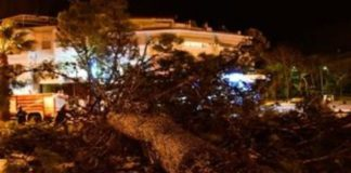 """Σλοβενία: 'Ενας νεκρός από την κακοκαιρία. Θυελλώδεις άνεμοι """"σαρώνουν"""" τη χώρα"""