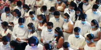 Στις Φιλιππίνες ομαδική γαμήλια τελετή, παρά την επιδημία