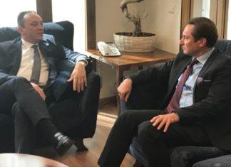 Συνάντηση Κ. Βλάση-Ουκρανού πρέσβη: Δυνατότητες περαιτέρω ενίσχυσης της συνεργασίας Ελλάδας-Ουκρανίας