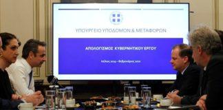 Συνάντηση Κυρ. Μητσοτάκη με την ηγεσία του υπουργείου Υποδομών και Μεταφορών