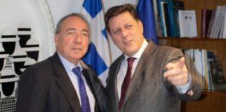 Συνάντηση Μ. Βαρβιτσιώτη με το γγ ΥΠΕΞ του Ισραήλ