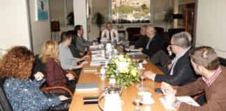 Συνάντηση του Γ. Πατούλη με εκπροσώπους του ΟΛΠ και των ναυπηγοεπισκευαστικών επιχειρήσεων Περάματος