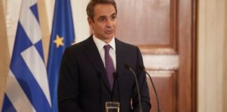Συνάντηση του Κυρ. Μητσοτάκη με τον υπουργό Επικρατείας των Ηνωμένων Αραβικών Εμιράτων