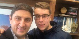 Συνάντηση του Λ. Αυγενάκη με τον Χρήστο Σανδαλάκη