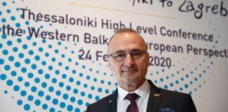 «Θέλουμε να δώσουμε στα Δυτικά Βαλκάνια την ευρωπαϊκή προοπτική», δήλωσε στο ΑΠΕ-ΜΠΕ ο Κροάτης ΥΠΕΞ Γκόρνταν Ράντμαν
