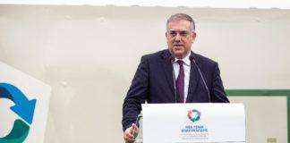Θέματα κυκλικής οικονομίας και ανακύκλωσης στο επίκεντρο της συνάντησης Τ. Θεοδωρικάκου-Τζ. Πάιατ