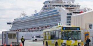 """Θετικοί στον COVID-19 δύο Σλοβένοι επιβάτες του """"Diamond Princess"""""""