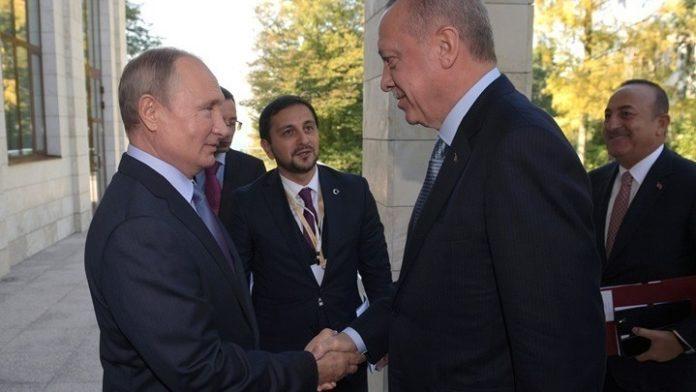 Τηλεφωνική συνομιλία Πούτιν - Ερντογάν σήμερα το απόγευμα για την κατάσταση  στο Ιντλίμπ
