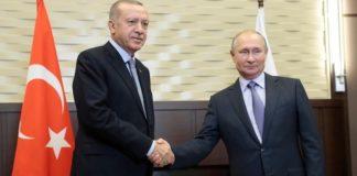 Το Κρεμλίνο επιβεβαίωσε ότι επίκειται εντός της ημέρας τηλεφωνική επικοινωνία Πούτιν-Ερντογάν