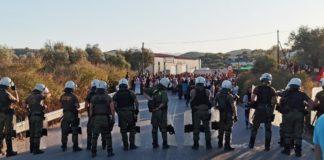 Το χρονικό των συγκρούσεων διαδηλωτών και αστυνομικών