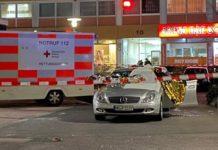 Τουλάχιστον 8 νεκροί σε αλλεπάλληλες επιθέσεις σε πόλη της Γερμανίας