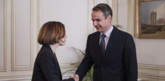 Συνάντηση Μητσοτάκη - Παρλί με φόντο την αμυντική συνεργασία Ελλάδας-Γαλλίας