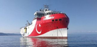 Ο Βελόπουλος ... βυθίζει το τουρκικό πλοίο Ορούτς Ρέις (vd)