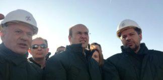 Πτολεμαΐδα: Ένταση κατά την επίσκεψη Χατζηδάκη (vd)