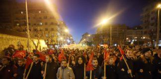 Καμάρα: Πορεία αντιεξουσιαστών για τους μετανάστες (pics & vd)