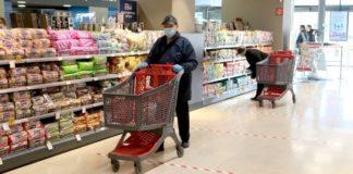 Ανάπτυξη πωλήσεων στα σούπερ μάρκετ, εν μέσω της πανδημίας του κορονοϊού