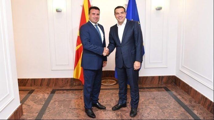 Επικοινωνία Τσίπρα-Ζάεφ για έναρξης ενταξιακών διαπραγματεύσεων με ΕΕ και  ένταξη της Βόρειας Μακεδονίας στο ΝΑΤΟ