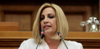Φ. Γεννηματά: Ενίσχυση ΜΕΘ από τους βουλευτές και ευρωβουλευτές του ΚΙΝΑΛ