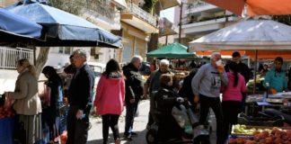 Ισότιμη αντιμετώπιση με την υπόλοιπη αγορά τροφίμων, ζητούν τα σωματεία λαϊκών αγορών