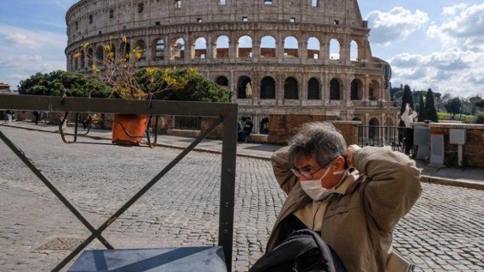 Ιταλία: Μείωση και πάλι σε αριθμό νεκρών και κρουσμάτων