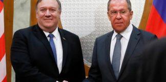 Λαβρόφ και Πομπέο συζήτησαν την κατάσταση που διαμορφώνεται με τον κορονοϊό και για την κατάσταση στην Συρία