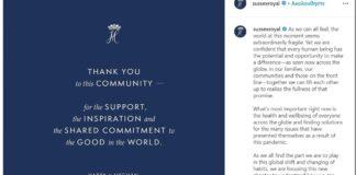Μεσούσης της πανδημίας, το αντίο του Χάρι και της Μέγκαν από το Instagram