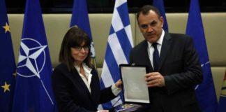 Σακελλαροπούλου: «Η διασφάλιση της ειρήνης αποτελεί πυλώνα της στρατηγικής μας»