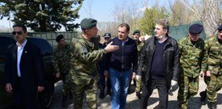 Οι ένοπλες δυνάμεις και τα σώματα ασφαλείας, παραμένουν σε εγρήγορση, διαβεβαίωσαν  Μ. Χρυσοχοΐδης και  Ν. Παναγιωτόπουλος