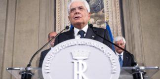 Ιταλία: Ενότητα ζητά ο πρόεδρος Ματαρέλα