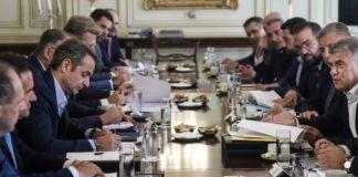 Συναντήσεις του πρωθυπουργού για την αντιμετώπιση του κοροναϊού