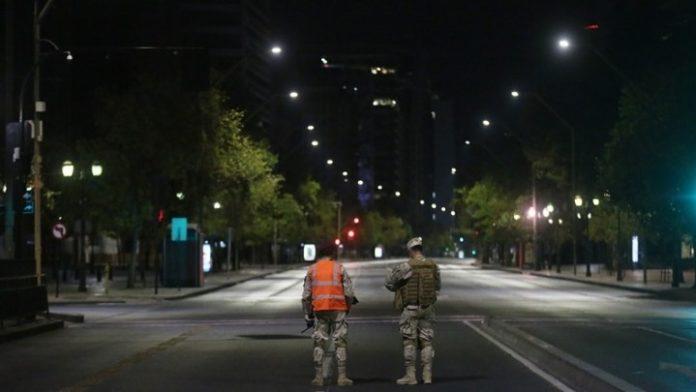 Υπό περιορισμό 1,3 εκατ. κάτοικοι στο Σαντιάγο της Χιλής
