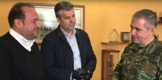 Δύο θερμικές κάμερες στο στρατό παρέδωσε το ΕΕΘ (vd)