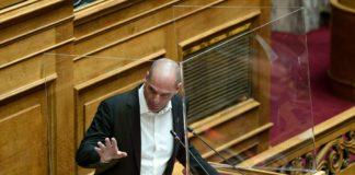 Βαρουφάκης: Επτά ερωτήματα προς τον Πρωθυπουργό (vd)