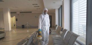 Απολύμανση στο αεροδρόμιο Ιωαννίνων, λόγω του κορονοϊού