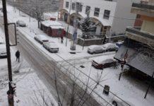 Χιονίζει σε ορεινές περιοχές του νομού Λάρισας - Μηχανήματα της Περιφέρειας Θεσσαλίας είναι σε ετοιμότητα